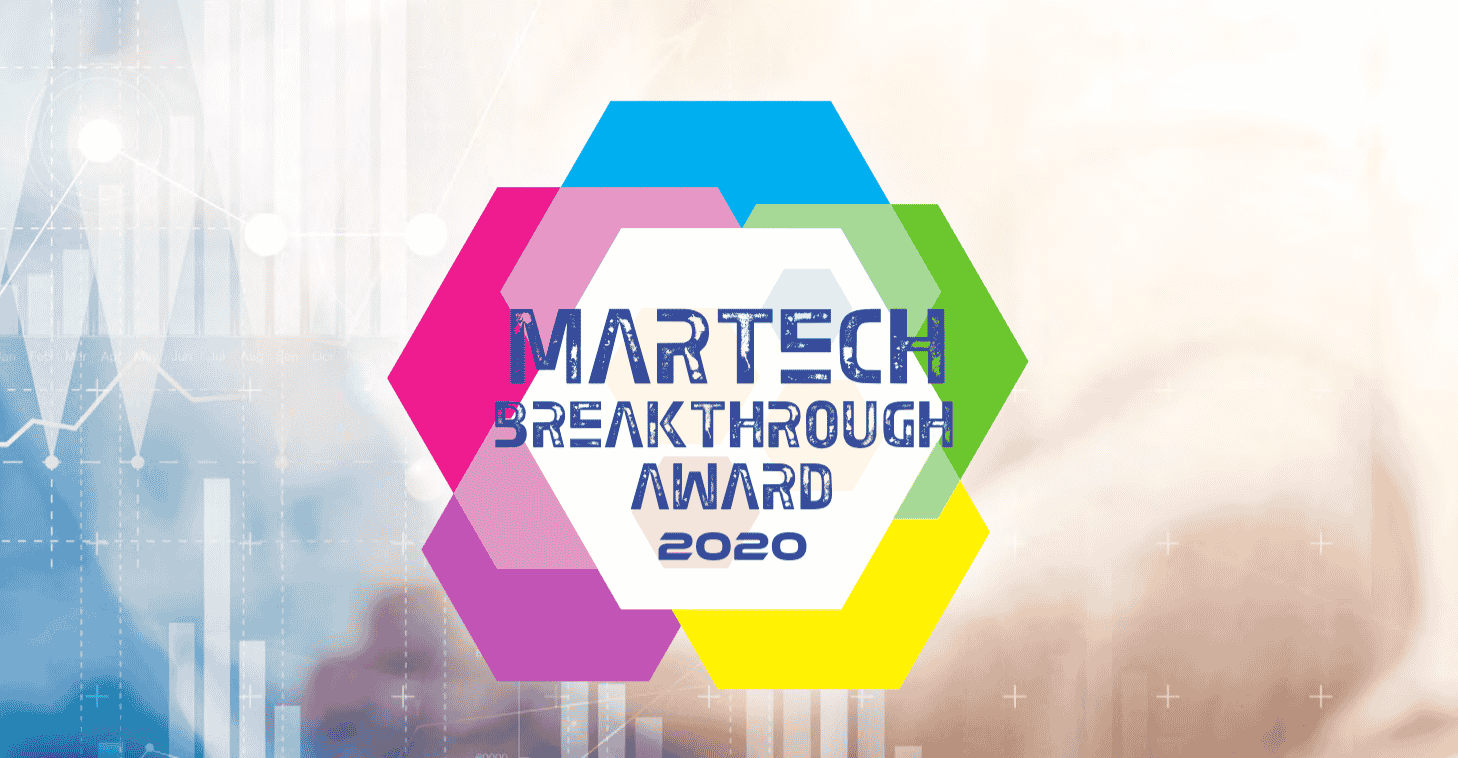 MarTech Breakthrough Award 2020