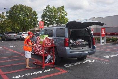 Target curbside pickup