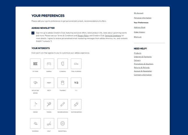 omnichannel personalization example