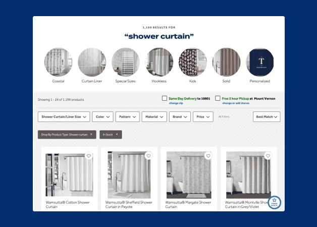website filtering example
