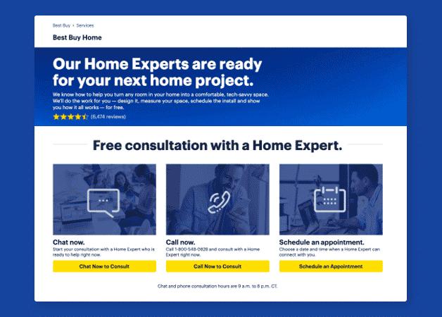 best buy customer support