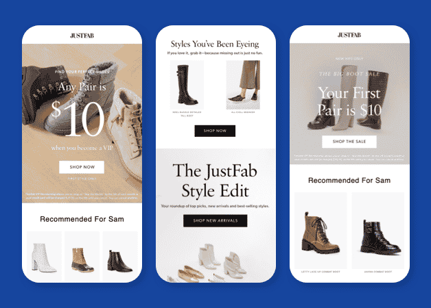 email personalization examples