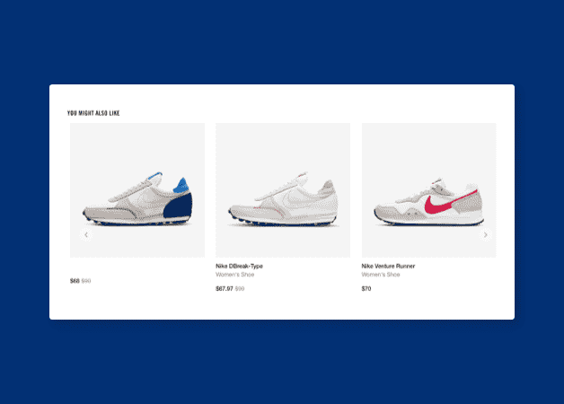 nike personalization example