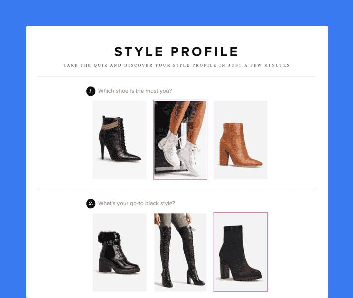 shoedazzle style profile