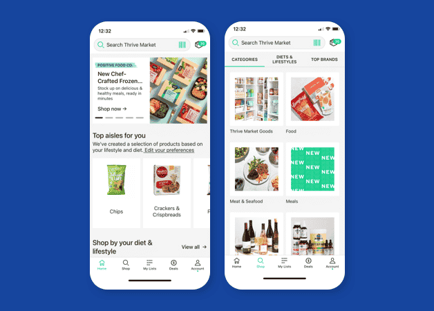 optimized mobile experience example