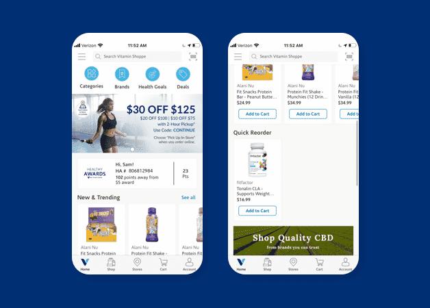 vitamin shoppe mobile app