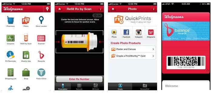 Mobile app walgreens
